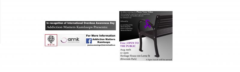 AMK International Overdose Awareness Day